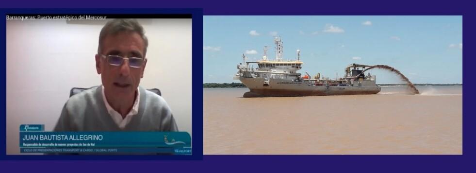 Hacer que el Puerto Barranqueras sea navegable 12 meses al año, las 24 horas del día