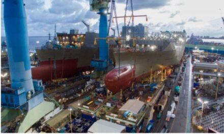 Los astilleros de EE. UU. respaldan $ 42.4 mil millones en PIB