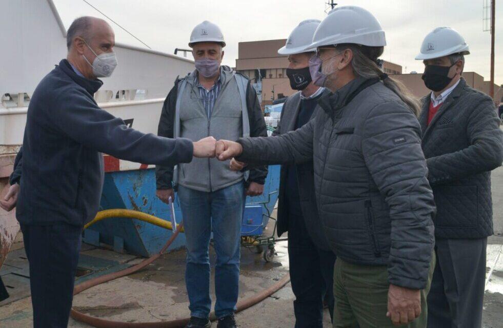 Nuevo buque pesquero Api X en Tandanor