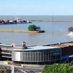 Ampliación del Puerto de Colonia, incluye la demolición de la terminal de Buquebus