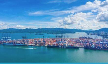 La congestión en los puertos de envío de contenedores en el sur de China empeora con las medidas anti-COVID-19