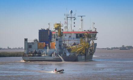 Dragado para las vías navegables en la agenda prioritaria
