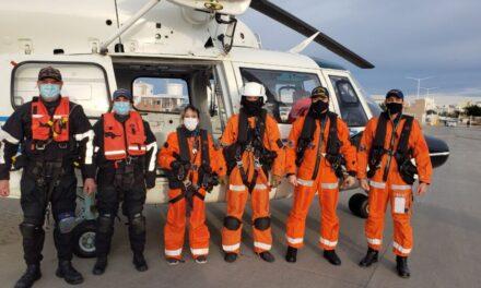 Dramático operativo de salvamento en el mar desarrollado por la PNA