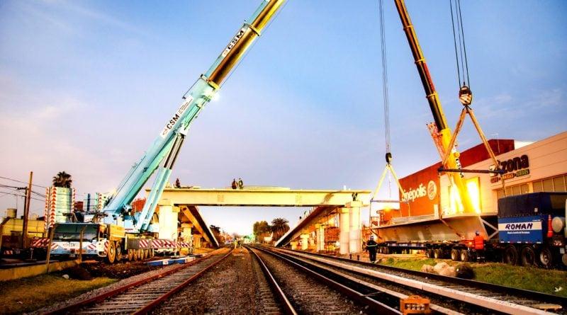 Se inauguró el Primer Puente Vehicular construido en TANDANOR