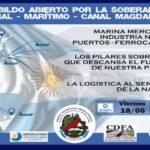 El Sindicato de Obreros Navales realizará un Cabildo Abierto por la Soberanía Fluvial y Marítima y el Canal Magdalena
