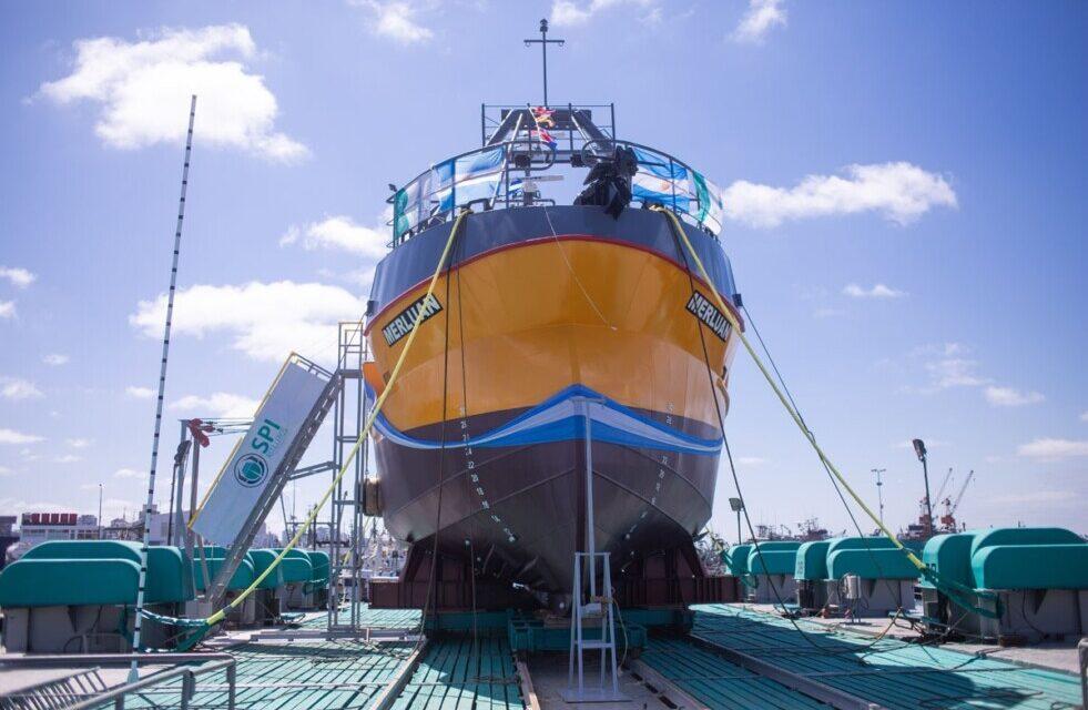 Empresas marplatenses construyen el buque de pesca más grande del país