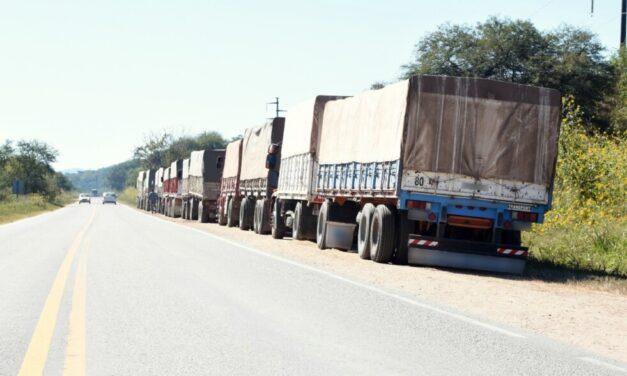Transportaban 296 toneladas de soja ilegalmente en 10 camiones