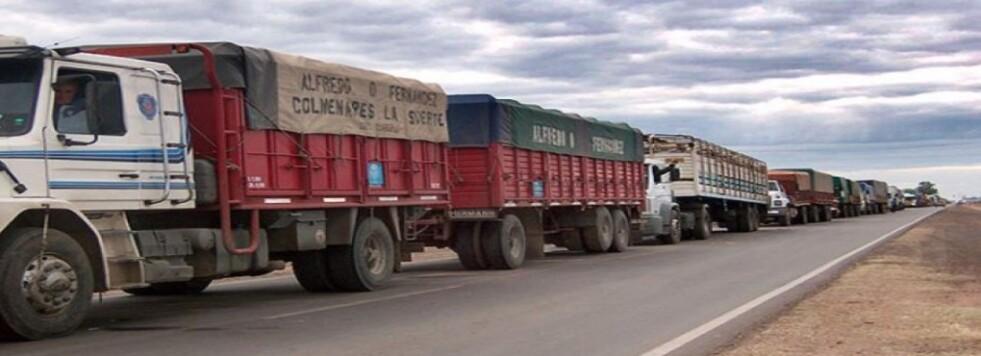 El Ministerio de Transporte acordó la tarifa de referencia en 20% para los servicios de transporte automotor de cargas de cereales, oleaginosas y derivados