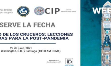 """Webinar """"El regreso de los cruceros: Lecciones aprendidas para la post-pandemia"""""""