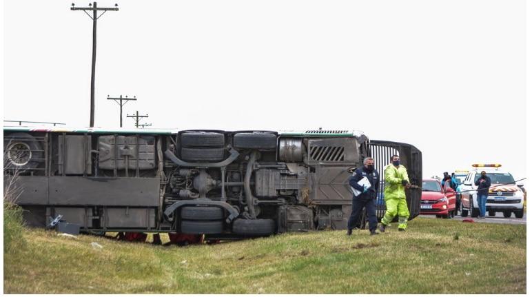 El accidente del colectivo en Chascomús es investigado por la Junta de Seguridad en el Transporte
