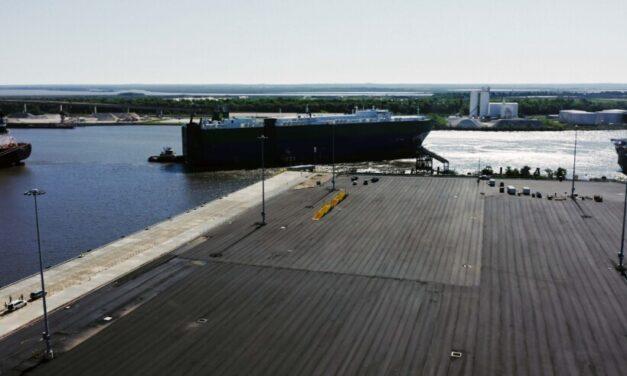 De Zárate a Alabama: inauguraron un nuevo puerto en EE.UU. con participación argentina