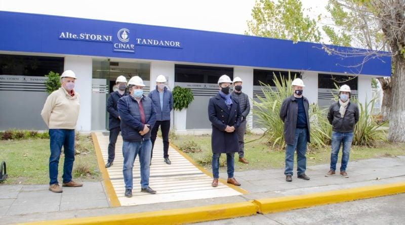Visita del intendente de Merlo a Tandanor