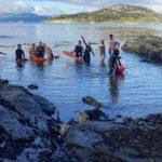 Nadadores de aguas frías recibirán el invierno en el Canal Beagle