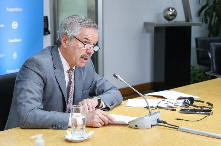 Felipe Solá aseguró que las exportaciones de 2021 «son las más altas desde 2014»
