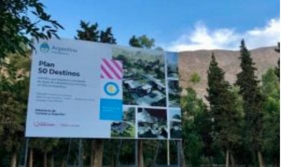 Inversión de casi 90 millones de pesos en la etapa 2021 del Plan 50 destinos en Río Negro