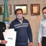 Capitanes y Maquinistas firmaron acuerdo de capacitación para trabajadores de buques pesqueros
