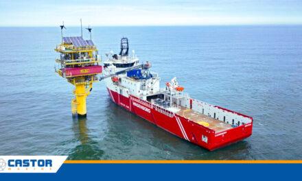 Castor Marine amplía la red del Mar del Norte a una cobertura 4G completa