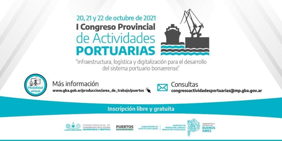 La Provincia lanza el I Congreso de Actividades Portuarias