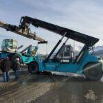 Tierra de Fuego: la Dirección de Puertos adquirió una nueva containera