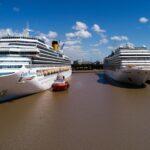 La Administración General de Puertos bonifica tasas portuarias para fomentar la llegada de cruceros