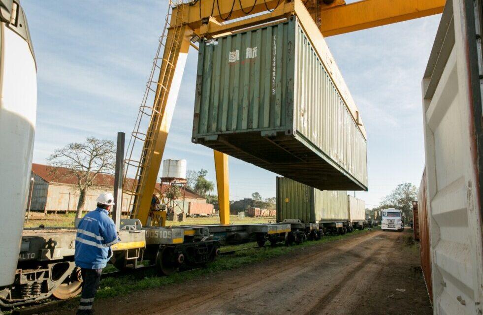 Explosivas cifras para el ferrocarril Urquiza Cargas