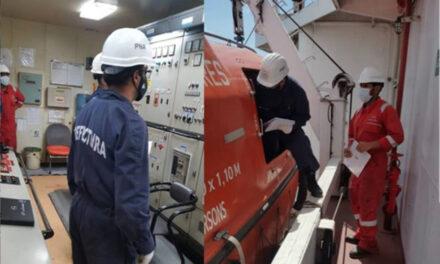 Prefectura mantiene un intenso control e inspecciones sobre los buques extranjeros