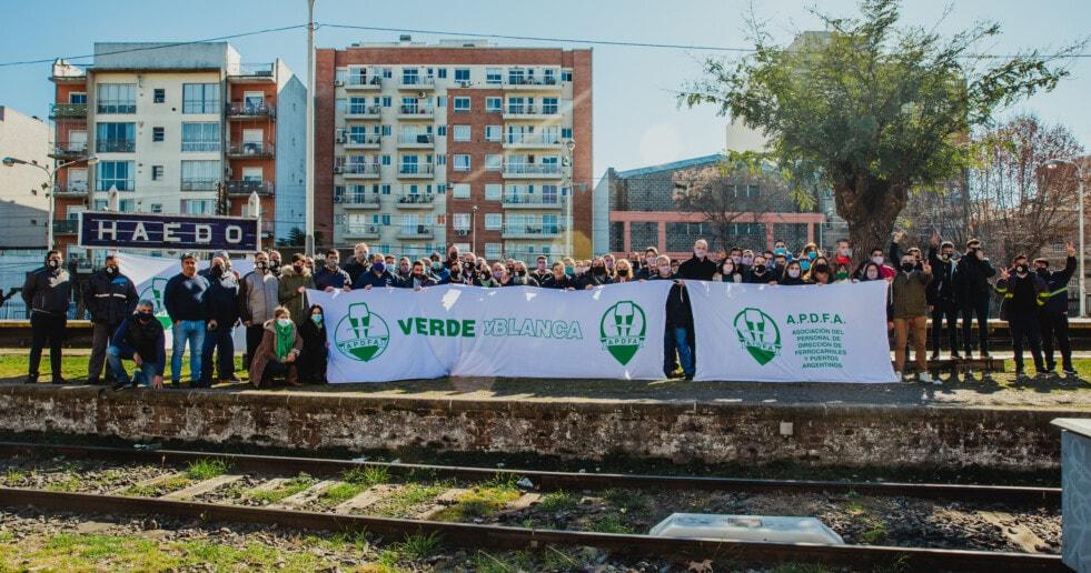 APDFA: se presentó la agrupación Verde y Blanca