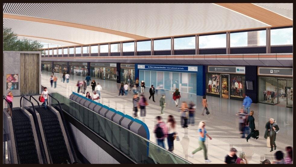 El aeropuerto de Bariloche cuenta con 11 nuevos puestos de check inn