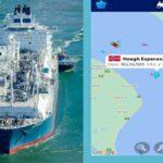Como en el Canal de Suez, pero en Punta Indio: varó un buque gasero y está bloqueado el comercio exterior argentino