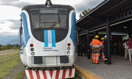 Trenes Argentinos recupera el tramo Salta-Campo Quijano y firma convenio para puente modular en Moreno