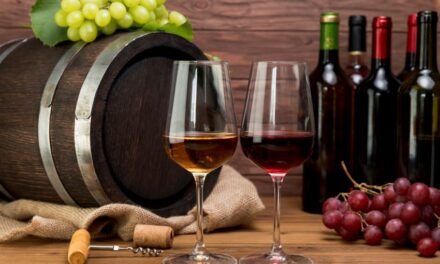 Las exportaciones de vino fraccionado aumentaron y las de vino a granel disminuyeron
