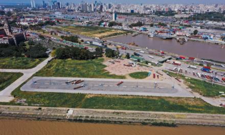 AGP avanza con obras para mejorar el tráfico de camiones en el Puerto Buenos Aires
