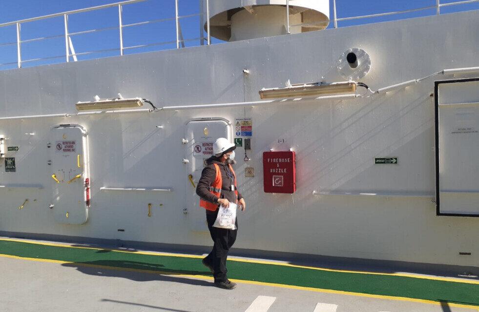 Continúan las inspecciones sanitarias en buques de puertos del norte bonaerense
