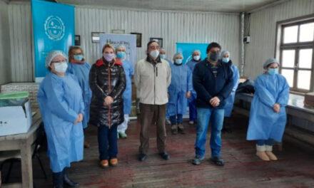 El RENATRE realiza un operativo de vacunación para los trabajadores rurales y empleadores en Jujuy