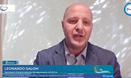 """Leonardo Salom: """"Los trabajadores somos los primeros interesados en el desarrollo portuario"""""""