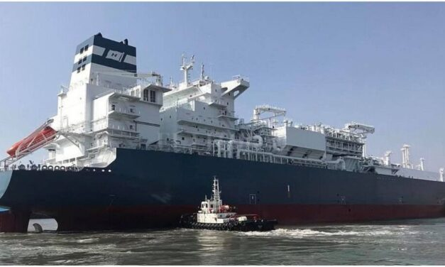 Un gasero varado en el canal de Punta Indio bloqueó el comercio exterior argentino durante horas