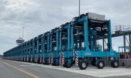 El puerto de Virginia, en U.S.A., recibirá 18 unidades híbridas Kalmar