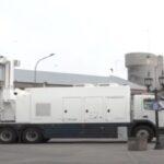 El Puerto de Bahia Blanca adquirió un nuevo escáner móvil