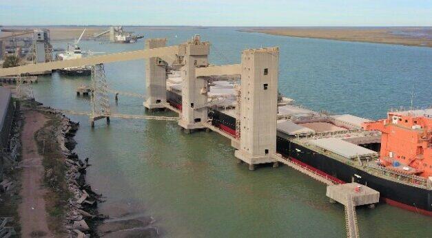 EL Puerto Bahía Blanca con cifras históricas en el movimiento de mercadería