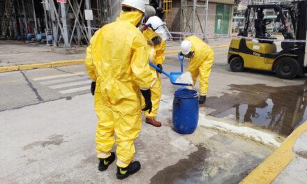 La Prefectura participó de un simulacro de derrame de un producto peligroso en Santa Fe
