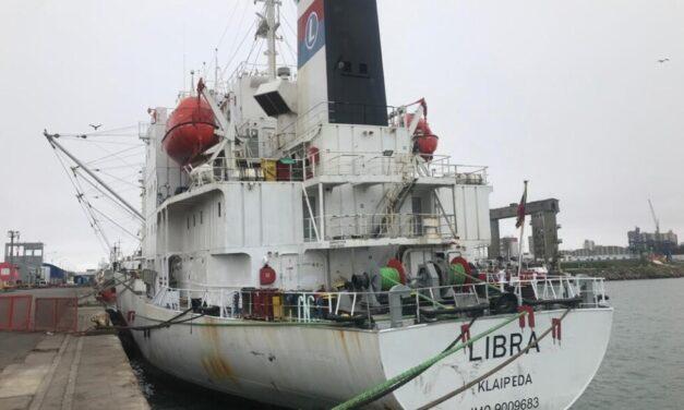 Ante la falta de contenedores, la terminal de mar del Plata pone a disposición un reefer que llevará pescado a granel
