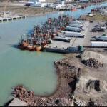 Puerto de Rawson: finalizó la adecuación de defensas del nuevo muelle pesquero