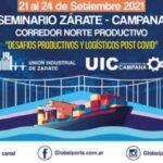 Industriales de Zárate y Campana analizaron los Desafíos productivos y logísticos post Covid
