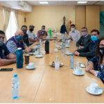 La Junta de Seguridad en el Transporte busca posibilidades de colaboración con el Sindicato de Conductores Navales