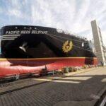 Se lanza el primer transportador de etano tipo B de la OMI, más grande del mundo