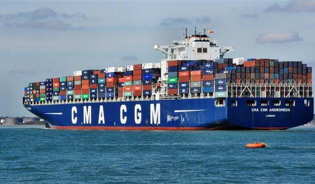 La naviera CMA CGM suspende los aumentos de los fletes spot hasta febrero de 2022