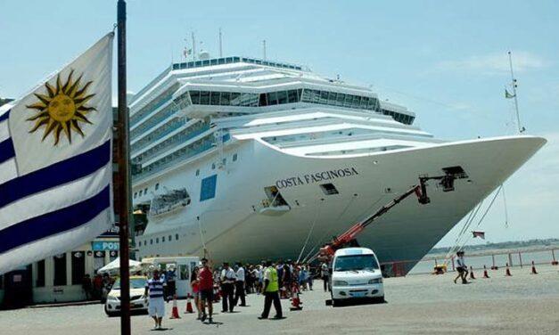 """Líneas de cruceros están """"cancelando""""  la escala en Uruguay"""