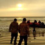 """El patrullero oceánico ARA """"Bouchard"""" efectuó el relevo de puestos en el sur"""