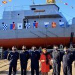 Astillero Río Santiago: realizó la botadura de la primera lancha de instrucción de cadetes