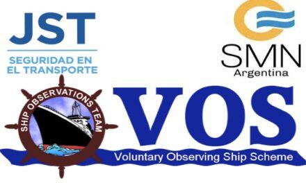 La JST y el Servicio Meteorológico Nacional trabajan en el Programa VOS en la Argentina